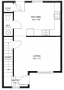 Real Estate -  2105 S. Franklin, Kirksville, Missouri - Floor plan downstairs