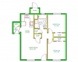 Real Estate - 711 713 Shannon, Kirksville, Missouri - Floor plan