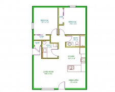 Real Estate - 502 504 Meadowcrest, Kirksville, Missouri - Floor plan