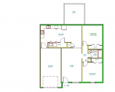 Real Estate - 15 17 Bobwhite, Kirksville, Missouri - Floor plan