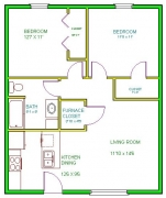 Real Estate - 421 425 West Scott, Kirksville, Missouri - Floor plan